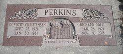 Dorothy <I>Christensen</I> Perkins