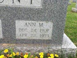 Ann M. <I>Ennis</I> Hunt
