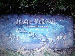 Jessie Elizabeth <I>Price</I> McDavitt