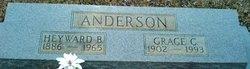 Grace Elizabeth <I>Cook</I> Anderson
