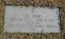 Myrtle Ann Ferree