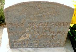 Max Washburn Palmer