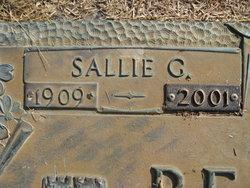 Sallie G <I>Griffin</I> Beacham