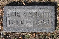 """Joseph Harvey """"Joe"""" Scott"""