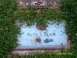 Alta Irene <I>Allshouse</I> Blair