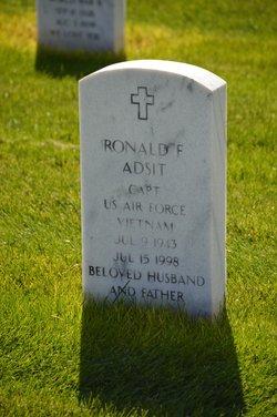 Ronald F Adsit
