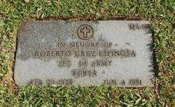 PFC Roberto Cruz Espinosa