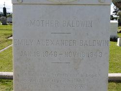 Emily Whitney <I>Alexander</I> Baldwin