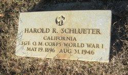 Harold R. Schlueter