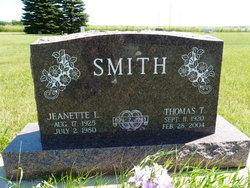 Jeanette Margaret <I>Lahren</I> Smith