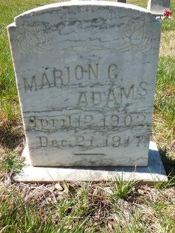 Marion Greenleaf Adams