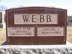 Parlee <I>Webb</I> Henson