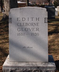 Edith <I>Cleborne</I> Glover