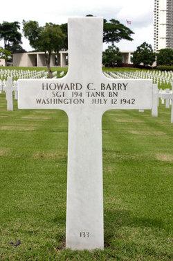 Sgt Howard C Barry