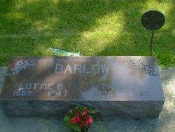 Lottie B. <I>Van Horn</I> Barlow