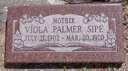 Viola <I>Palmer</I> Sipe