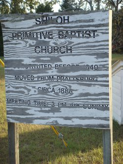 Shiloh Primitive Baptist Church Cemetery