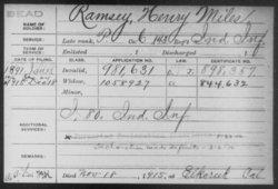 Henry Miles Ramsey
