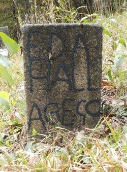 "Edith E ""Eda"" <I>Dula</I> Hall"