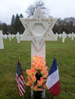 PFC Joseph L Bale, III