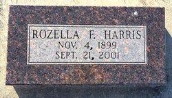 Mary Rozella <I>Frances</I> Harris
