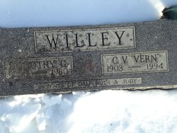 Dorothy Glen <I>Bye</I> Willey
