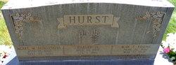 May Theda <I>Young</I> Hurst