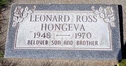 Leonard Ross Hongeva