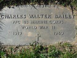 "Charles Walter ""Chuck"" Bailey"