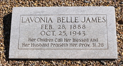 Lavonia Bell <I>Bagwell</I> James