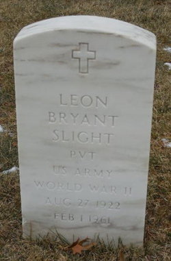Leon Bryant Slight