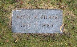Mabel M. <I>Olsen</I> Gilman