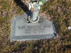 Mary Elizabeth <I>English-Smith</I> Wright