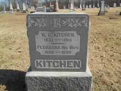 newest 28023 a9ea3 Floranna Hamilton Kitchen (1830-1890) - Find A Grave Memorial