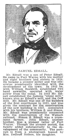Maj Samuel Edsall
