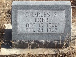 """Charles Sylvester """"Charley"""" Lobb"""
