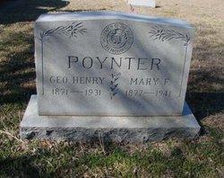 Mary F <I>Motley</I> Poynter