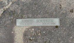 "Sarah Ann ""Annie"" <I>Ray</I> Souther"