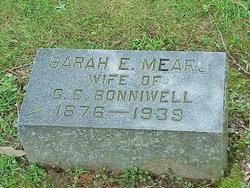 """Sarah Ester """"Essie"""" <I>Mears</I> Bonniwell"""