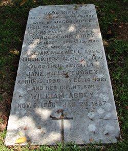 Jane Kiple <I>Abbey</I> Toosey