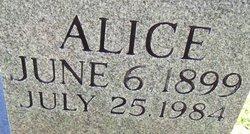 Mary Alice <I>Webb</I> Mankin