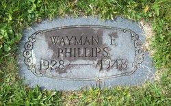 Wayman E. Phillips