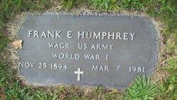 Frank E. Humphrey