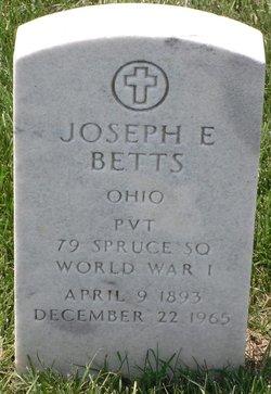 Joseph E Betts