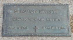 Maude LaVerne <I>Hill</I> Bennett