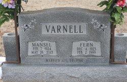 Mansel Lavon Varnell