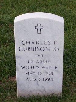 Charles F Cubbison, Sr