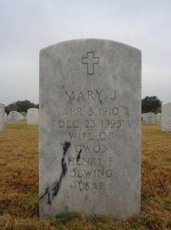 Mary J Dewing