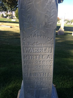 Myrtle A Warren