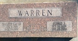 Ferris Jones Warren